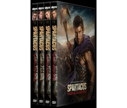 Spartacus   (Seasons 1-4)