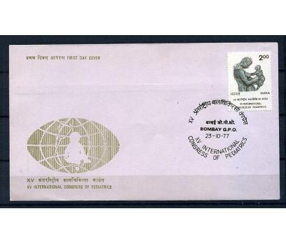 HİNDİSTAN 1977 FDC U.PEDİATRİ KONGRESİ SÜPER(009)