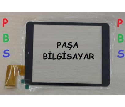 Piranha Premium R Tab 7.85 Dokunmatik Tablet Camı Siyah Tablet Dış Camı