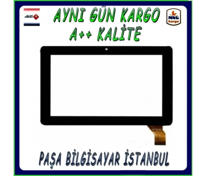 Polypad 7504 Dokunmatik Tablet Camı Siyah Ön Cam 1