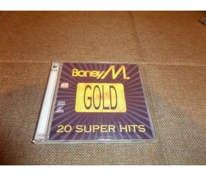 BONEY M GOLD - 20 SUPER HITS (1993 BMG, 2 disc-VCD