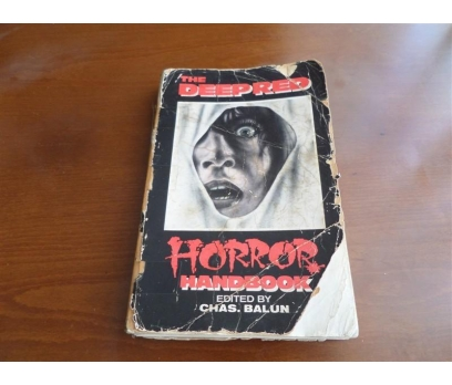 Deep Red Horror Handbook by Charles Balun