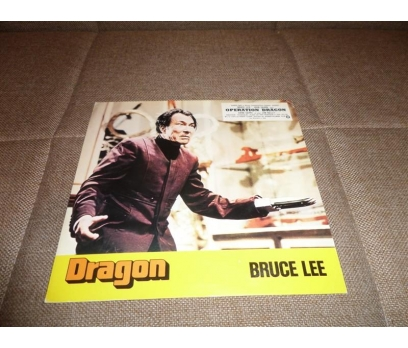 DRAGON BRUCE LEE FİLM LOBİ KART