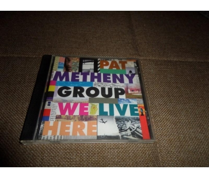 Pat Metheny - We Live Here 1995 Audio CD Müzik CD