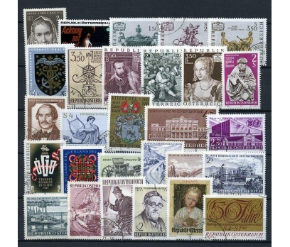 AVUSTURYA DAMGALI 1971 YILI KOMPLE 22 TAM S.(011)