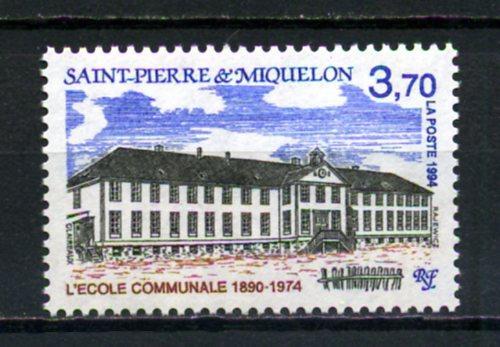 ST.P.MİQUELON ** 1994 KAMU BİNALARI TAM SERİ(012) 1