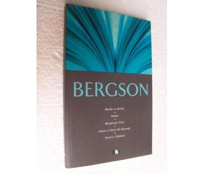 BERGSON - FİKİR MİMARLARI 10  Ali Osman Gündoğan