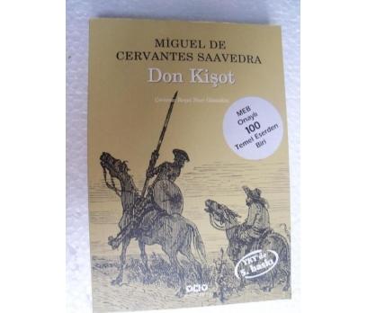 DON KİŞOT Miguel de Cervantes Saavedra YKY