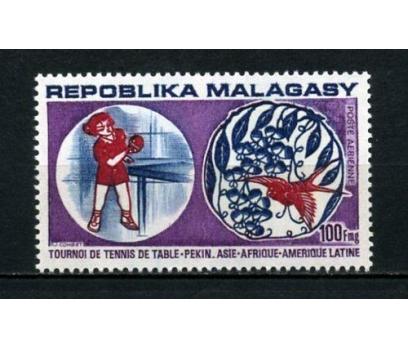 MADAGASKAR ** 1974 MASA TENİSİ 2.VALÖR (012)