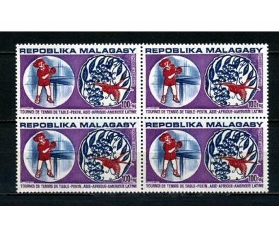 MADAGASKAR ** 1974 MASA TENİSİ 2.VALÖR DBL (012)