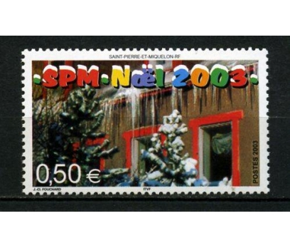 ST.P.MİQUELON ** 2003 CHRISTMAS TAM SERİ (012)
