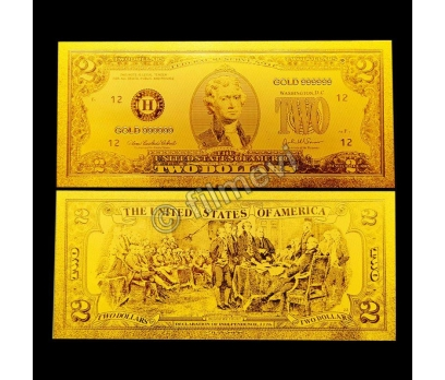 Altın Varak Dünya Paraları Süper Koleksiyonluk-2