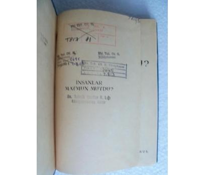 İNSANLAR MAYMUNMUYDU H. Rahmi Gürpınar 1968 ATLAS 2