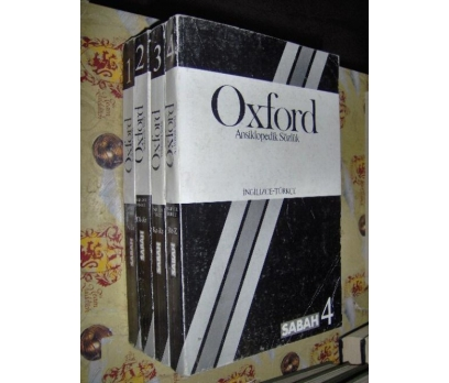OXFORD ANSİKLOPEDİK SÖZLÜK   4 CİLT TAM TAKIM