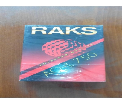 RAKS AQ L-750 BETA BOŞ VİDEO KASET AMBALAJINDA