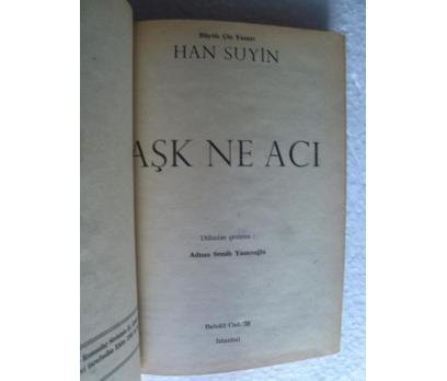 AŞK NE ACI Han Suyin ALTIN KİTAPLAR YAYINLARI 2 2x