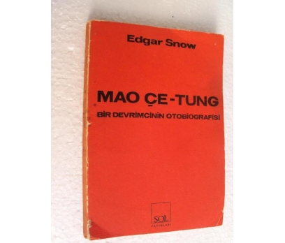 MAO ÇE TUNG - EDGAR SNOW sol yay