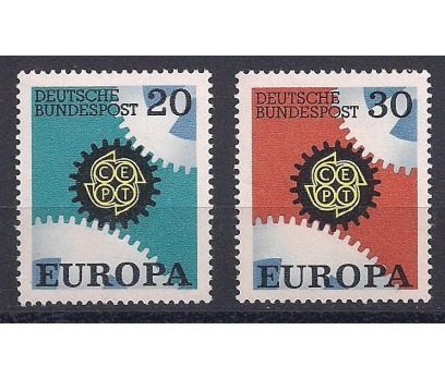 1967 Almanya Europa Cept Damgasız**