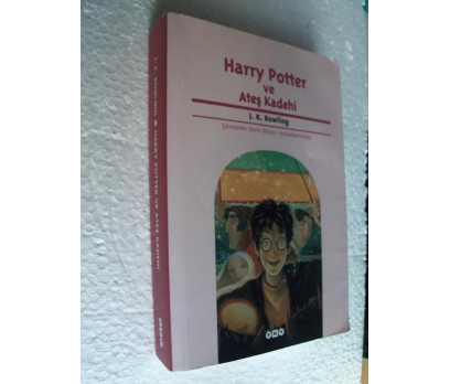 HARRY POTTER VE ATEŞ KADEHİ J. K. Rowling 1.BASKI