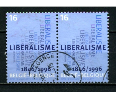 BELÇİKA DAMGALI 1996 LİBERAL PARTİ 150 TAM S.(013)