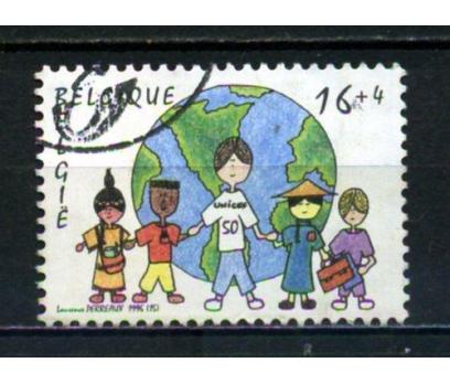 BELÇİKA DAMGALI 1996 UNICEF 50.YIL TAM SERİ (013)