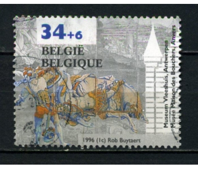 BELÇİKA DAMGALI 1996 VLEESHUIS MÜZESİ TAM S.(013)