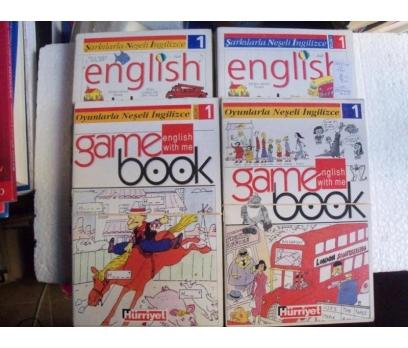 ENGLISH WITH ME 30 CİLT + 12 KASET ŞARKILARLA NEŞE