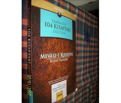 MEVA'IZ-İ KUDSİYYE ( KUDSİ VAAZLAR )