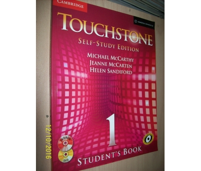 TOUCHSTONE SELF - STUDY EDITION STUDENT'S BOOK 1