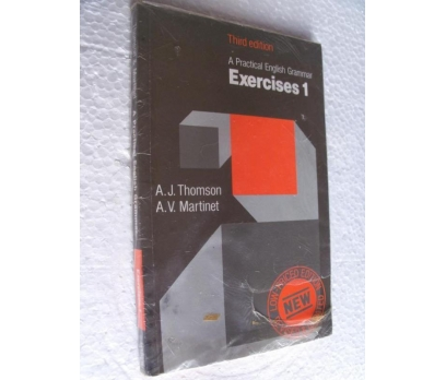 A PRACTICAL ENGLISH GRAMMAR EXERCISES 1 THOMSON,MA