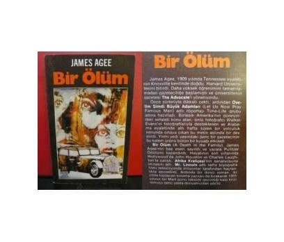 BİR ÖLÜM - JAMES AGEE
