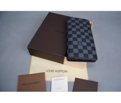 LOUIS VUITTON BRAZZA WALLET HAKİKİ DERİ MOR