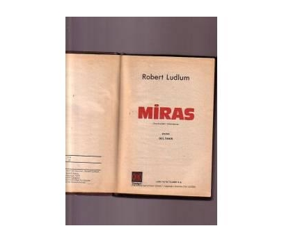 MİRAS - ROBERT LUDLUM