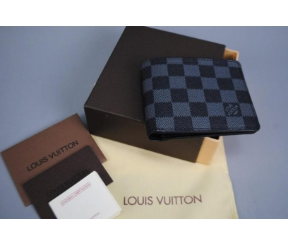 LOUIS VUITTON DAMİER CANVAS MULTİPLE CÜZDAN DERİ