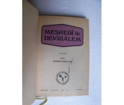 MEŞHEDİ İLE DEVRİ ALEM - ERCÜMENT EKREM TALU atlas 2