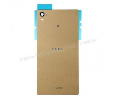 Sony Xperia Z5 Premium  Arka Batarya Pil Kapağı Gold