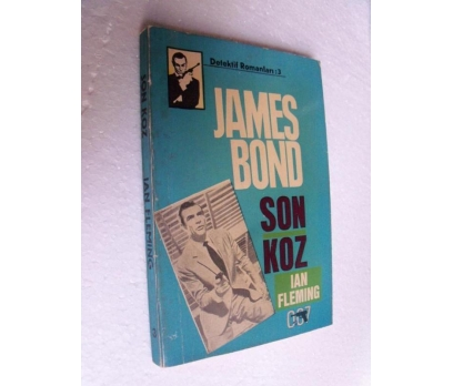 JAMES BOND SON KOZ - IAN FLEMING başak yay.