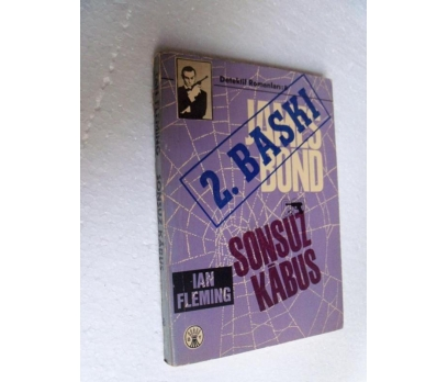 JAMES BOND SONSUZ KABUS - IAN FLEMING başak yay.
