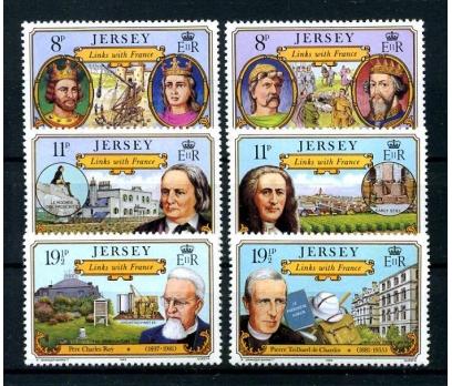 JERSEY ** 1981 FRANSA İLE DOSTLUK TAM SERİ(160101)