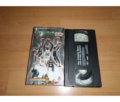 SAN ANTONIO SPURS 1998.99 NBA CHAMPIONS VHS FİLM