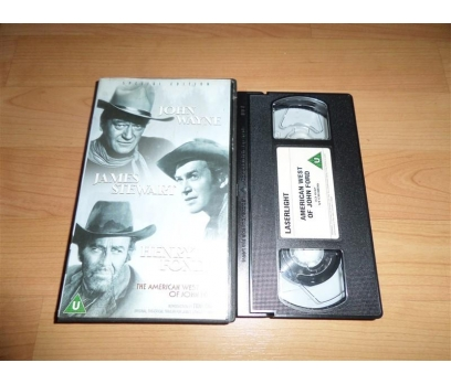 THE AMERICAN WEST OF JOHN FORD VHS FİLM