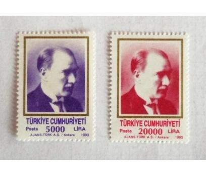 1993 ATA KONULU SÜREKLİ  Tam seri (MNH)
