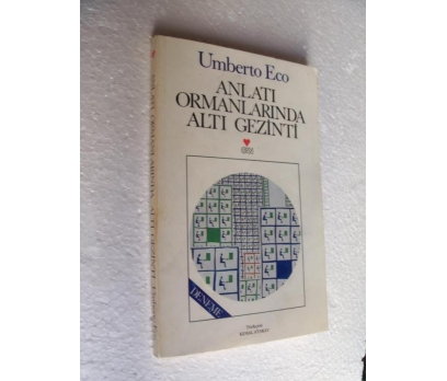 ANLATI ORMANLARINDA ALTI GEZİNTİ Umberto Eco