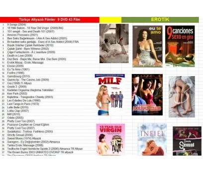 ÇOK HArika türkçe altyazı ve dublaj filmler