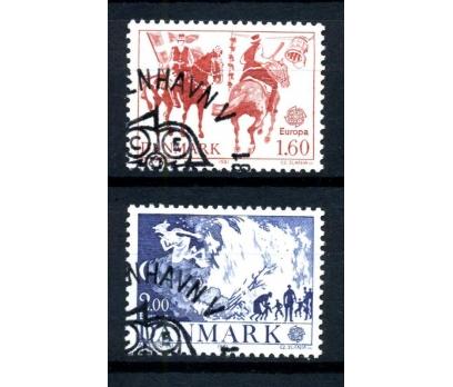 DANİMARKA DAMGALI 1981 EUROPA CEPT TAM S.(160102)
