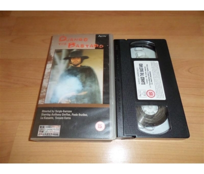 DJANGO THE BASTARO VHS FİLM