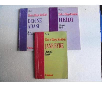 HEIDI - JANE EYRE - DEFİNE ADASI  milliyet +varlık