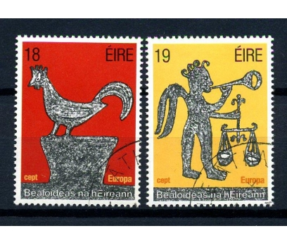 İRLANDA DAMGALI 1981 EUROPA CEPT TAM SERİ (160102)