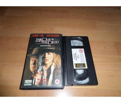 THE QUICK AND THE DEAD VHS FİLM