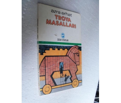 TROYA MASALLARI - AZRA ERHAT cem çocuk kitapları